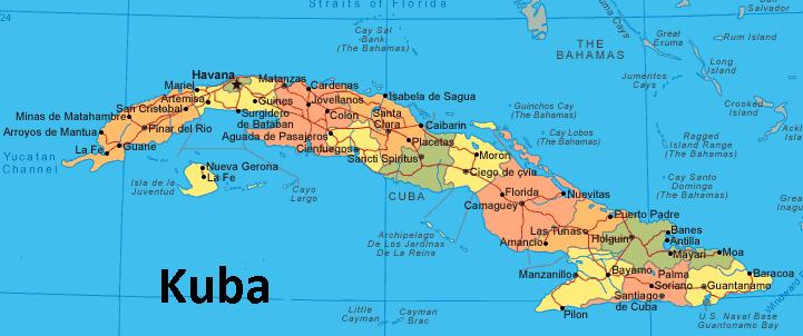 kuba karta Fil:Karta över Kuba.png   Wiki Rötter kuba karta