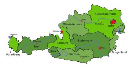 österrike karta Österrike   Wiki Rötter österrike karta